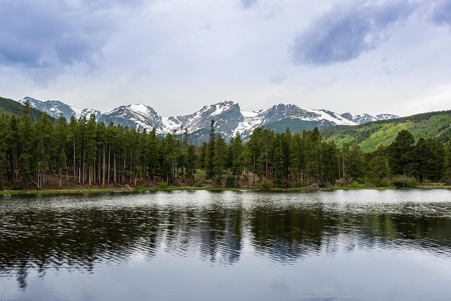 Sprague Lake by David Morefield