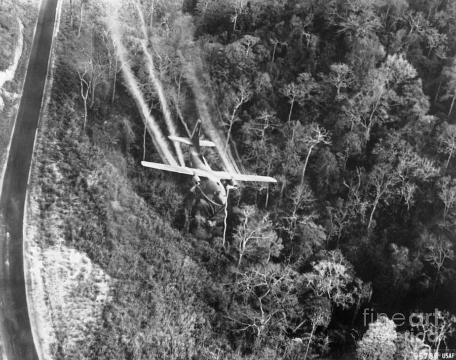Spraying Agent Orange Over Vietnam Photograph by Bettmann
