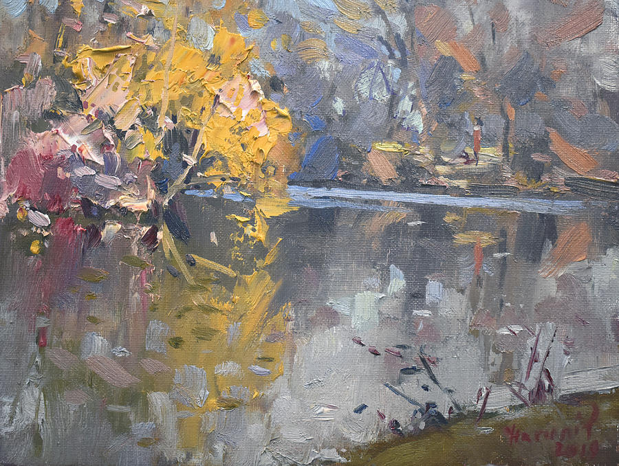 Hyde Park Painting - Spring At Hyde Park by Ylli Haruni