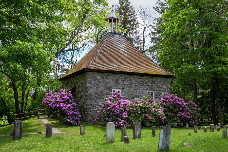 Hudson Valley Photograph - Spring At The Crispell Memorial French Church by Jeff Severson