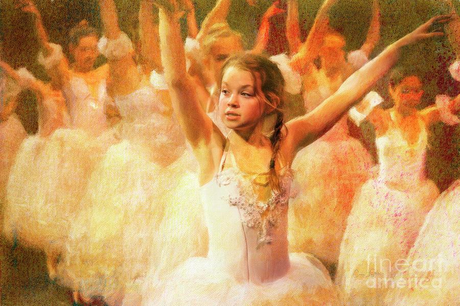 Spring Ballet Rehearsal by Craig J Satterlee