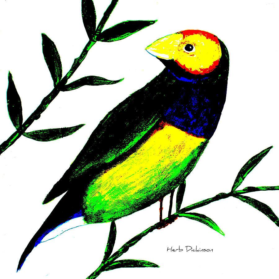 Spring Bird I  by Herb Dickinson