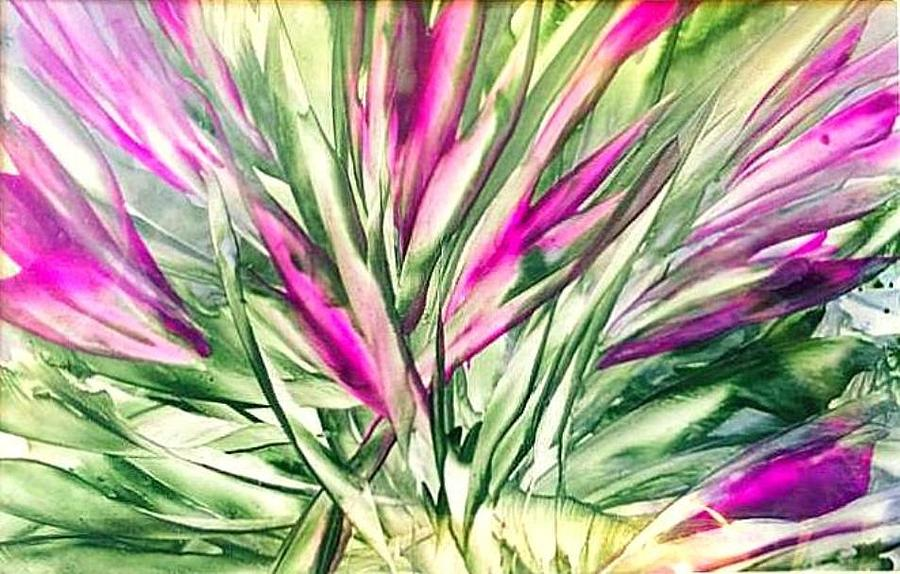 Floral Painting - Spring Blooms by Christine Johanns