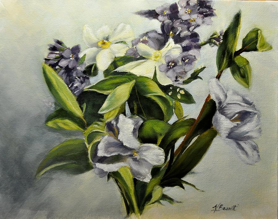 Spring Bouquet by Valerie Bassett