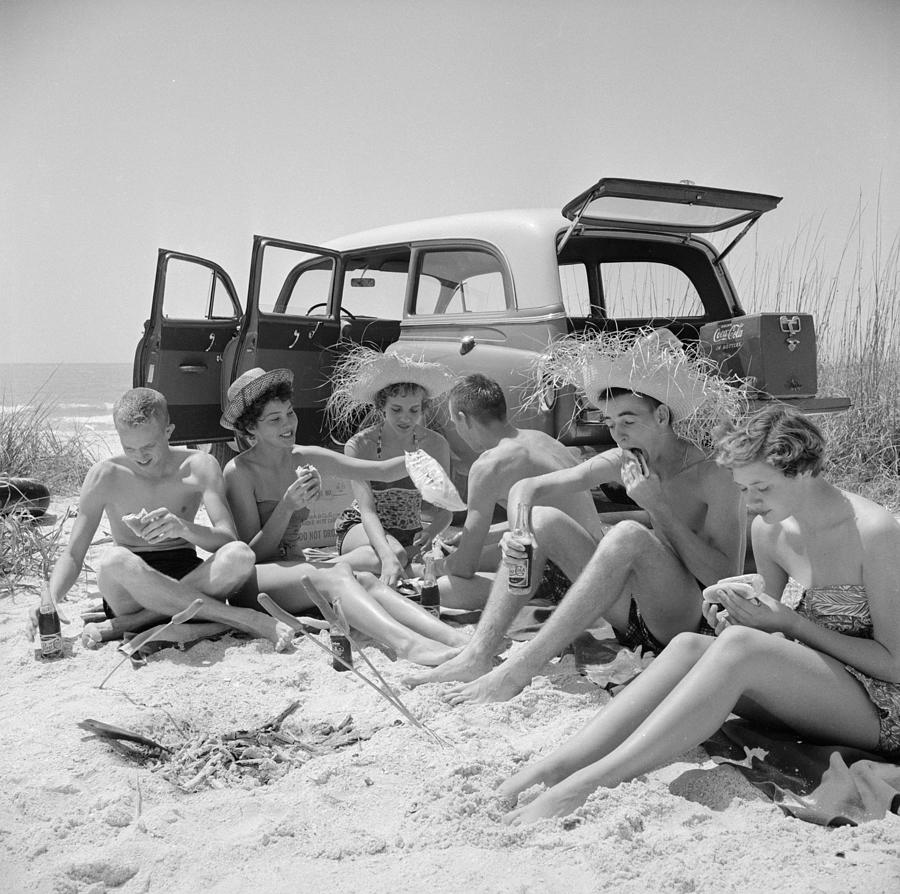 Spring Break Photograph by Slim Aarons