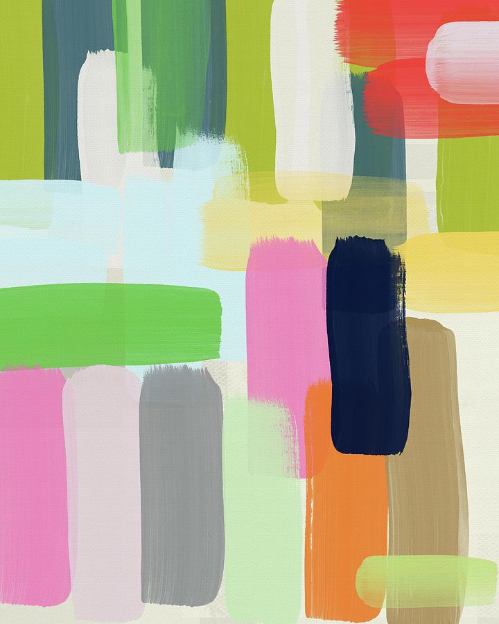 Spring Breeze- Art by Linda Woods by Linda Woods