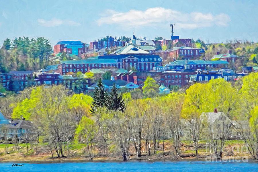 Spring Campus by Carol Randall