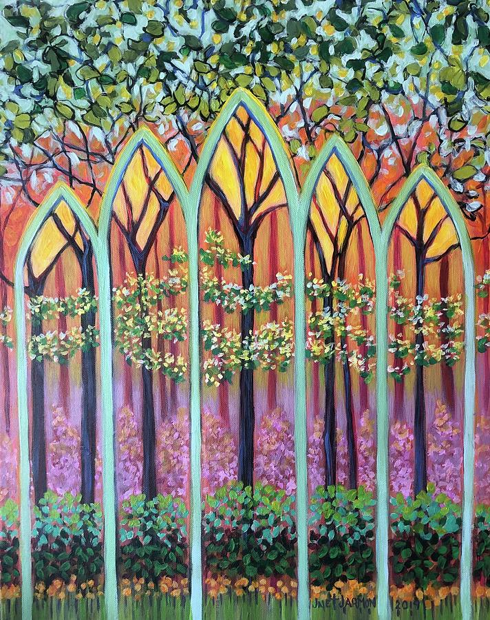 Spring Cathedral by Jeanette Jarmon