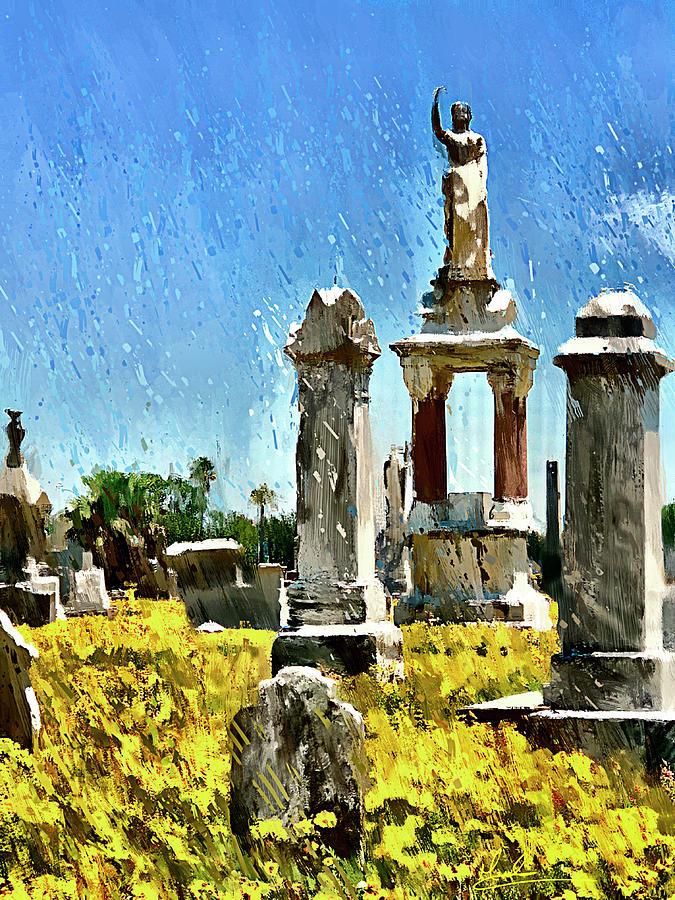 Spring Cemetery by GW Mireles
