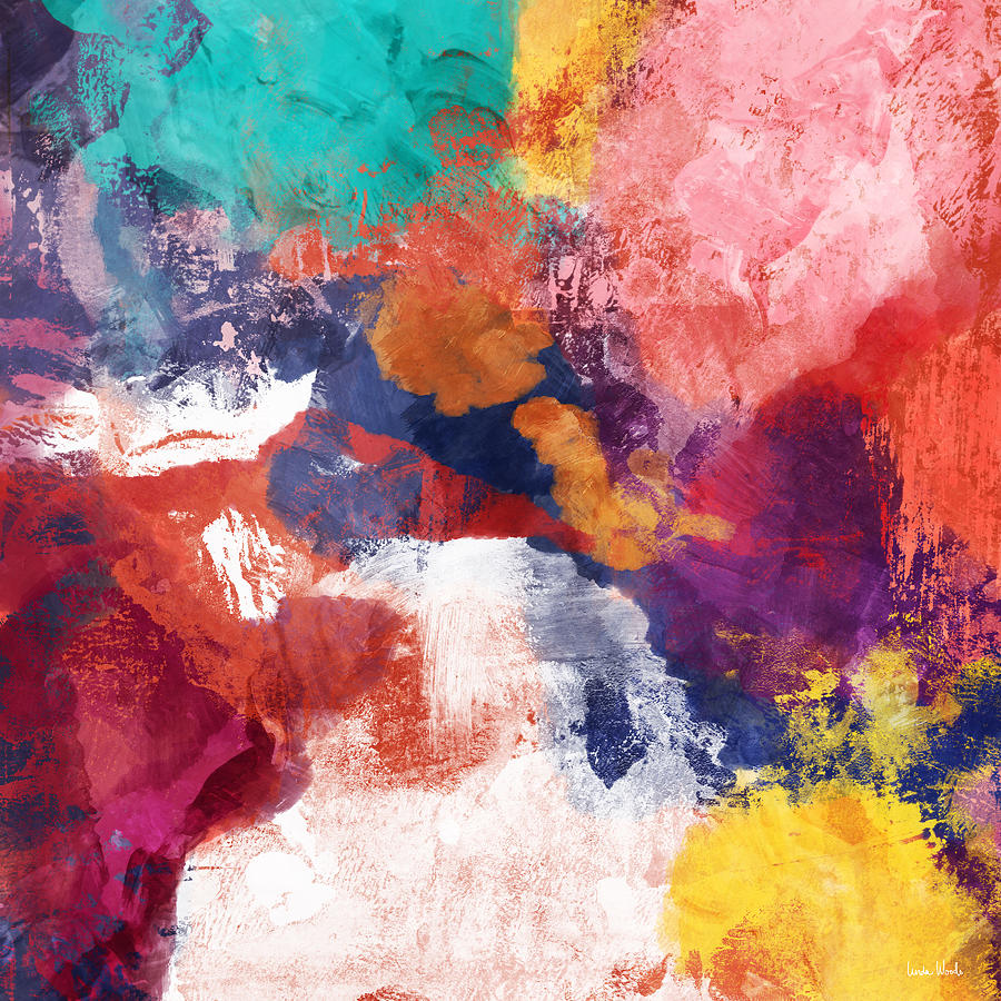 Colorful Painting - Spring Crush 3- Abstract Art By Linda Woods by Linda Woods