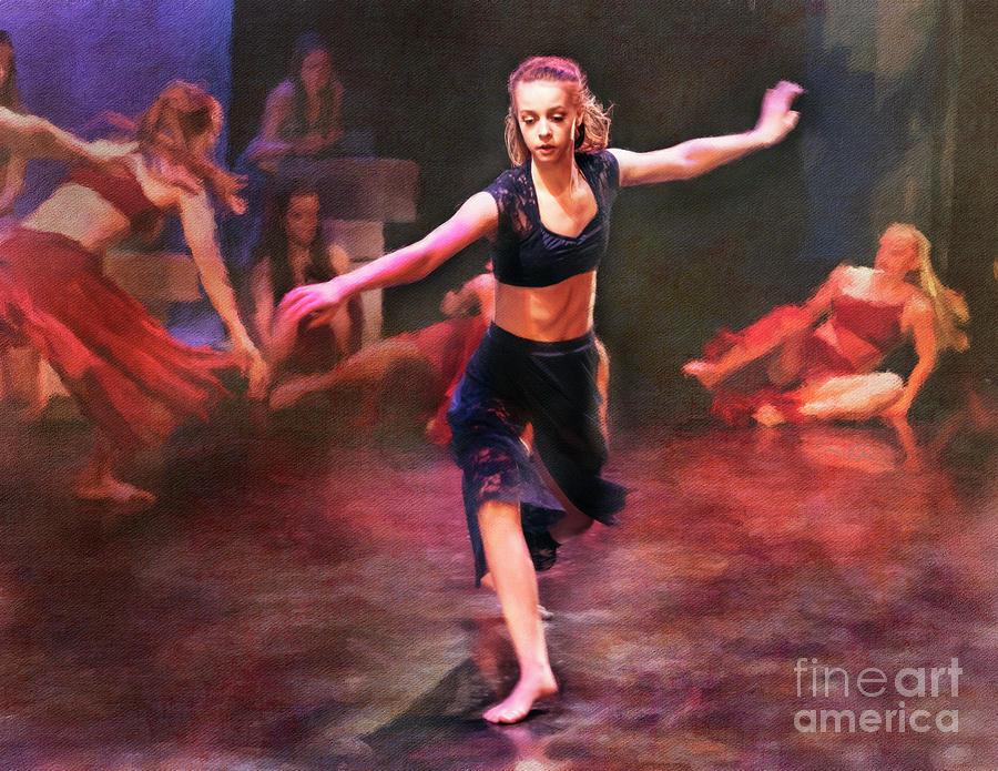 Spring Dance Rehearsal 3 by Craig J Satterlee