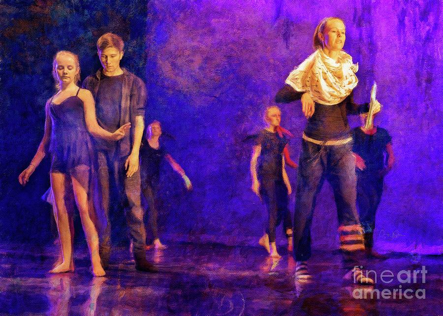 Spring Dance Rehearsal 4 by Craig J Satterlee