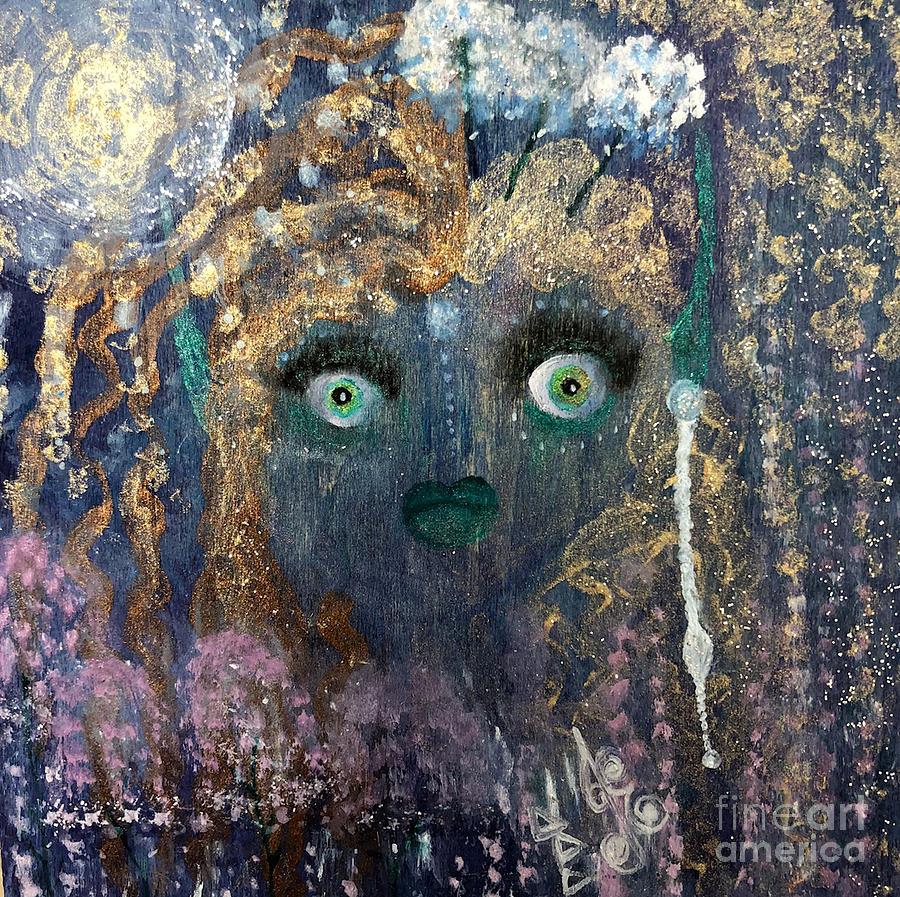 Spring Fairy in Winter by Julie Engelhardt
