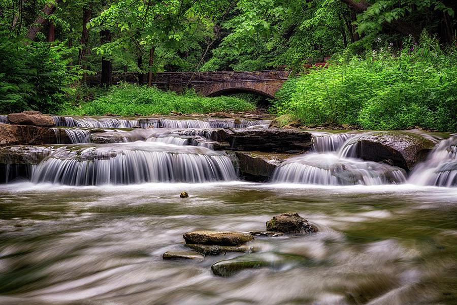 Spring Flow at Wolf Creek by Rick Berk