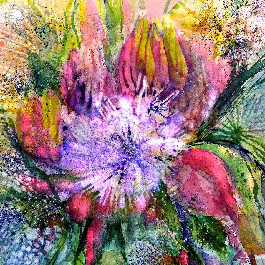 Spring Flowers Firework by Sabina Von Arx