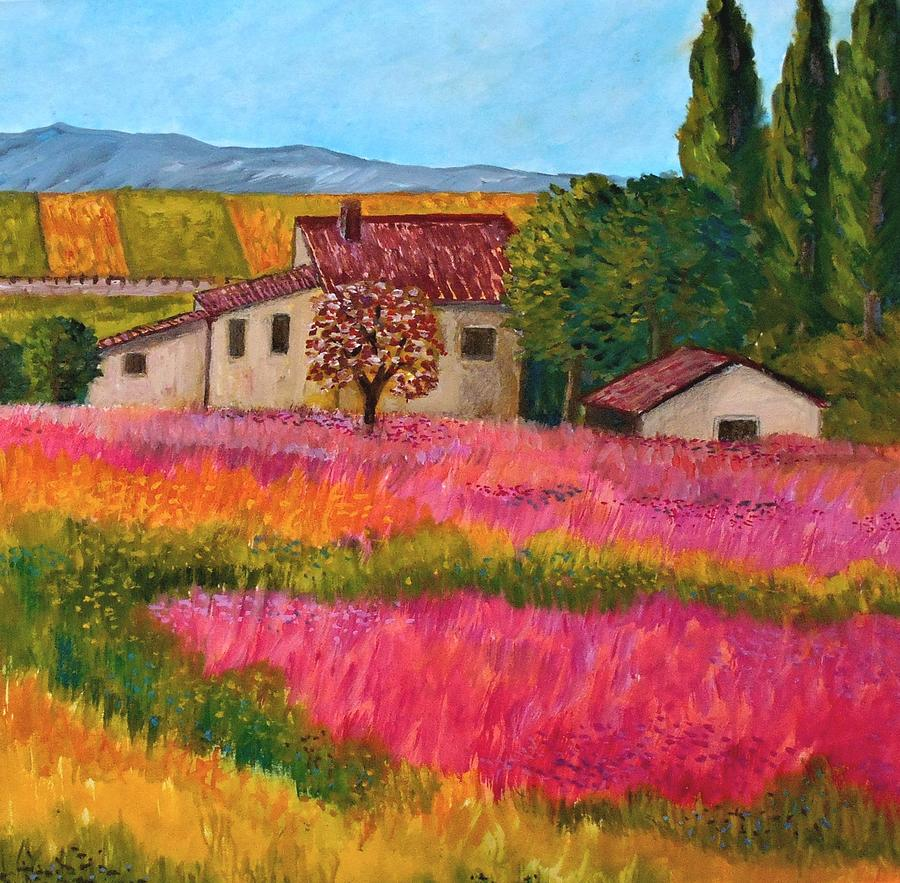 Spring In France Painting