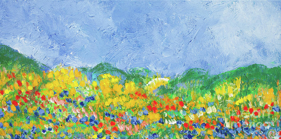 Texas Highways Painting - Spring In Texas by Bjorn Sjogren