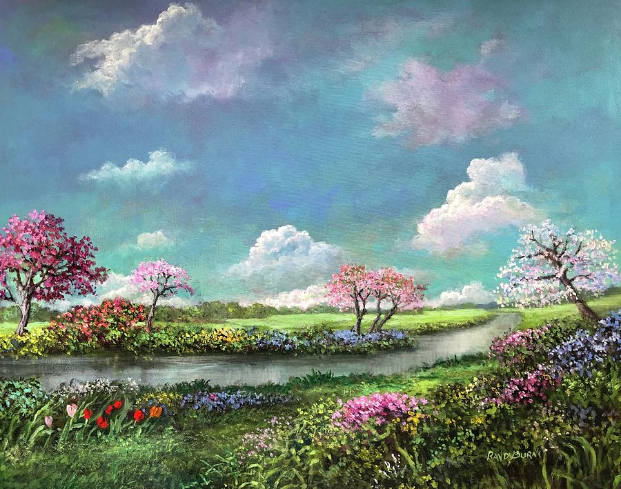 Spring In The Garden Of Eden by Randy Burns