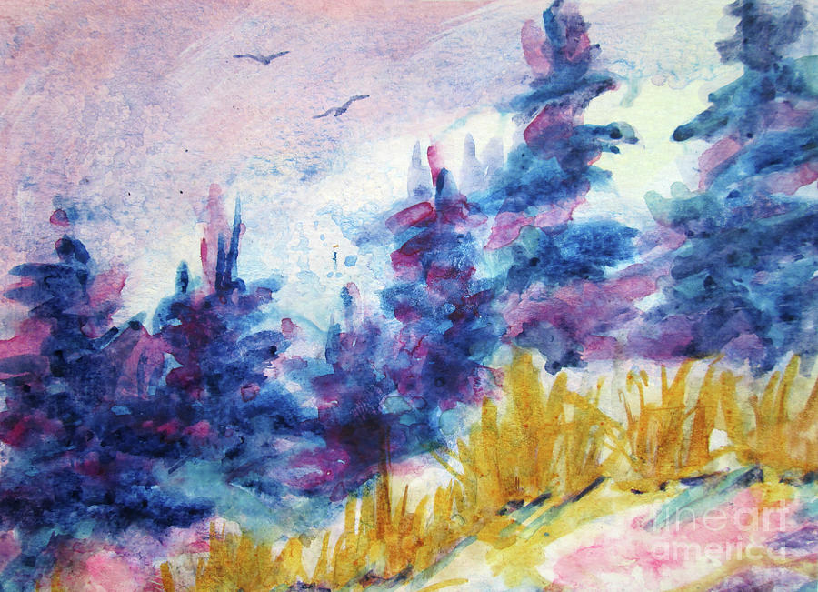 Spring Landscape 2019 by Kathy Braud