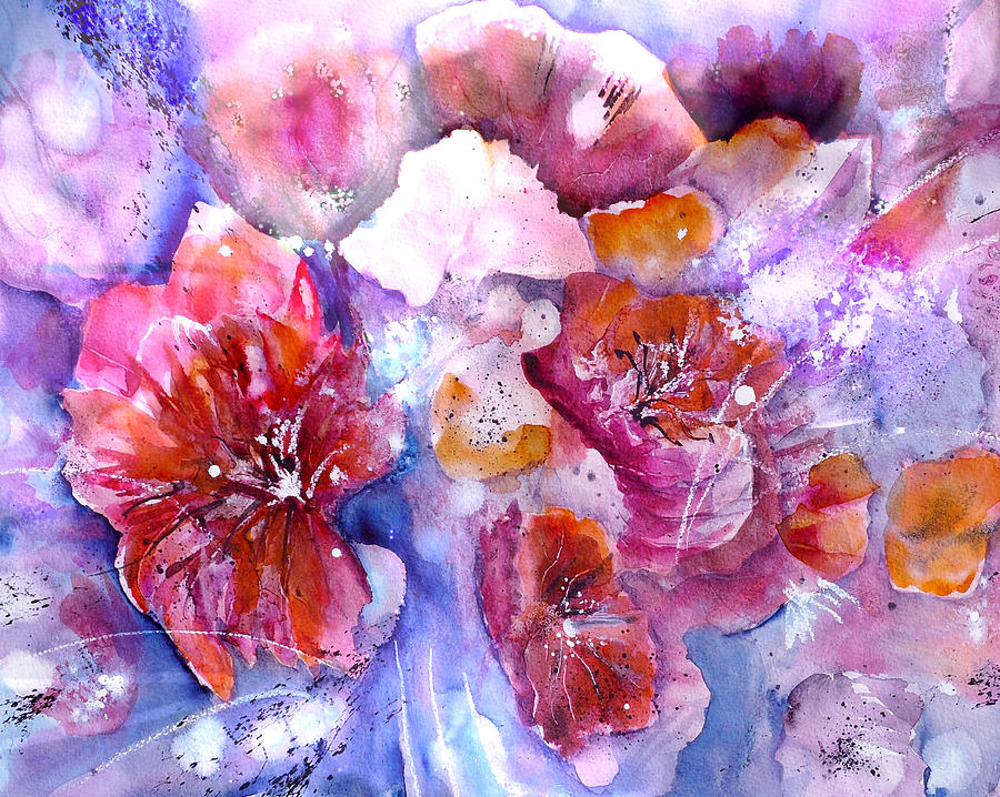 Spring Flower Meadow by Sabina Von Arx