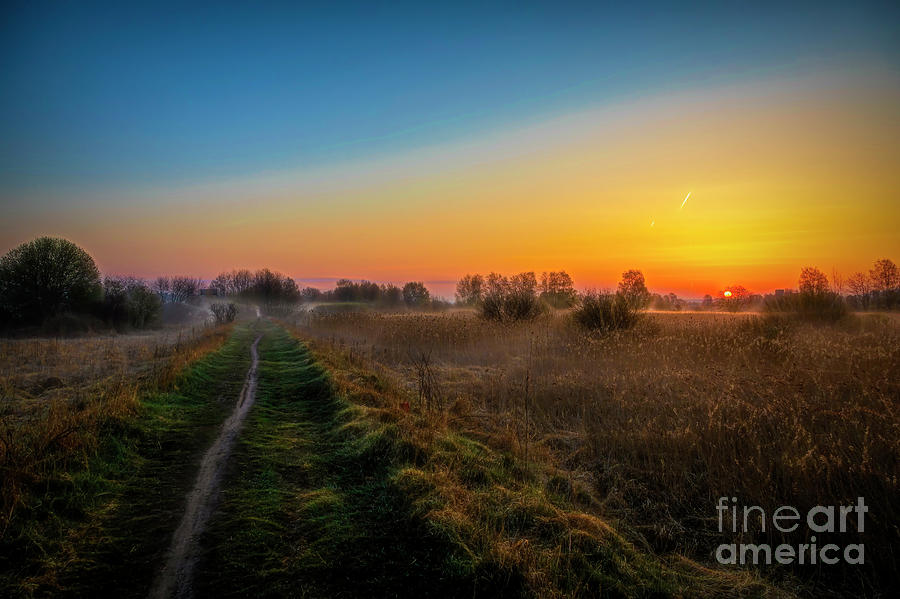 Atmosphere Photograph - Spring Morning At 5.51 by Veikko Suikkanen