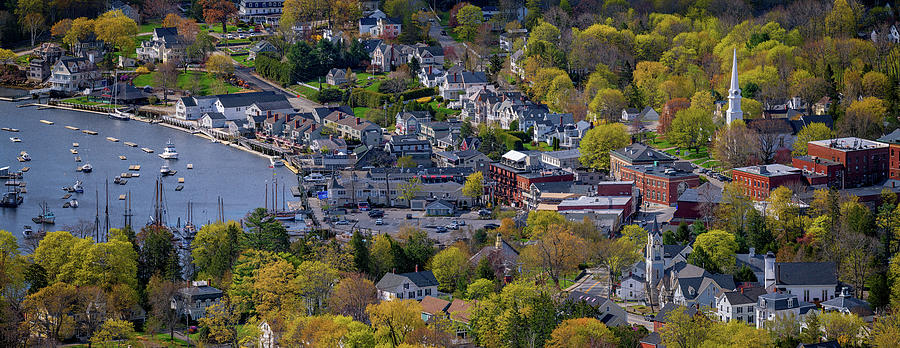 Spring Morning in Camden, Maine by Rick Berk