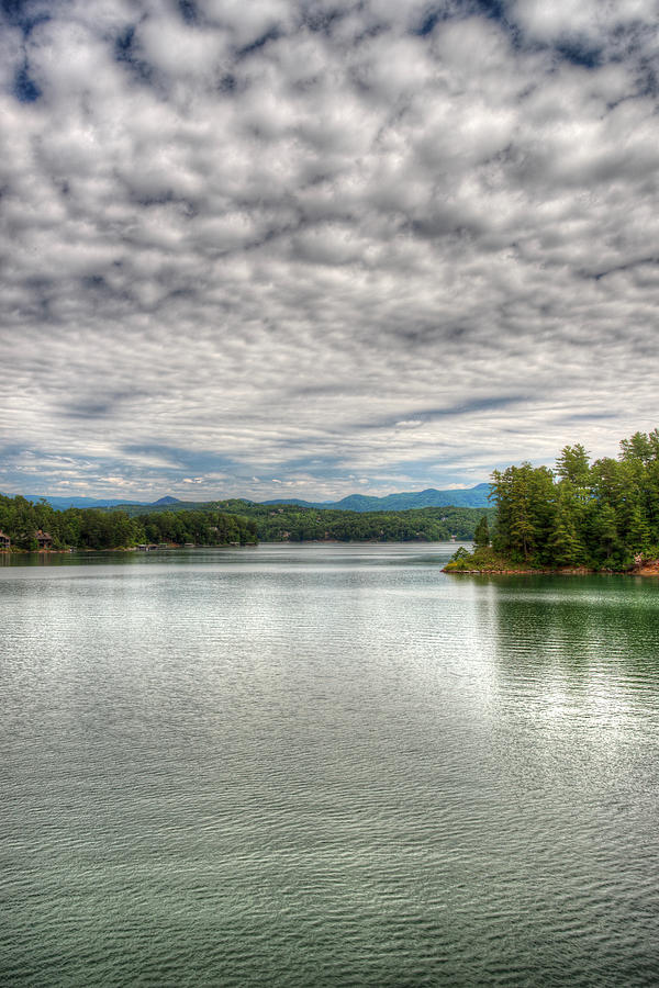 Spring Morning on Lake Keowee by Blaine Owens Photography