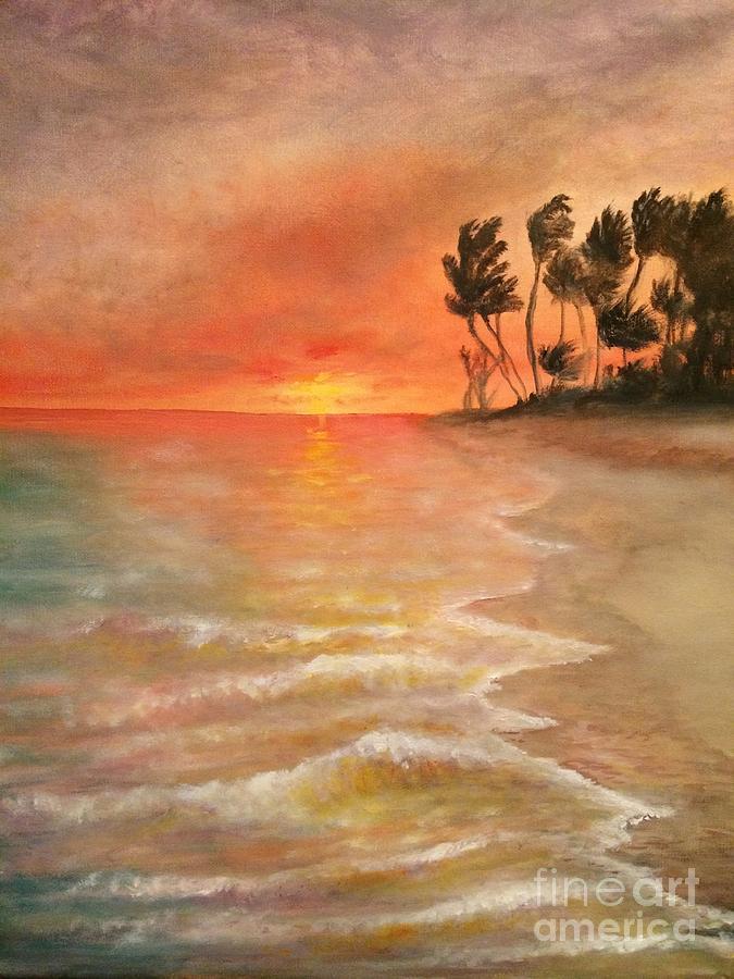 Spring On the Beach by Jennifer Thomas