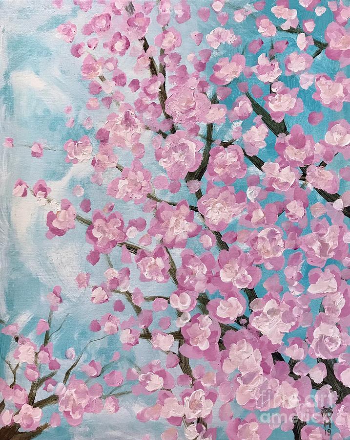 Spring pink by Wonju Hulse