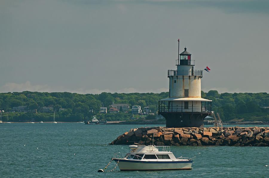 Spring Point Ledge Light by Paul Mangold