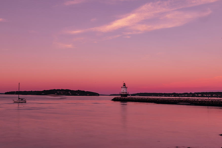 Spring Point Light Photograph - Spring Point Light by Bob Doucette