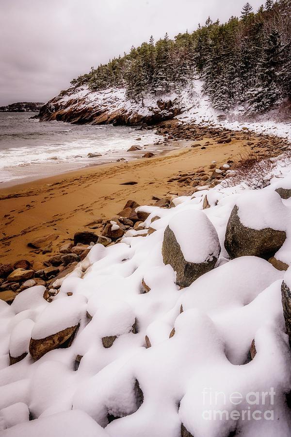 Spring Snow by Susan Garver