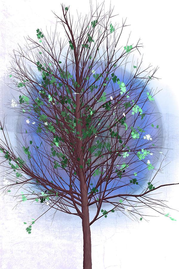 Spring Tree at Last Frost by Debra and Dave Vanderlaan