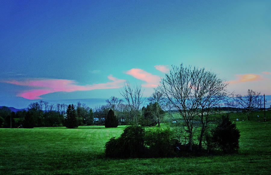 Spring twilight, Shenandoah Valley by Bill Jonscher
