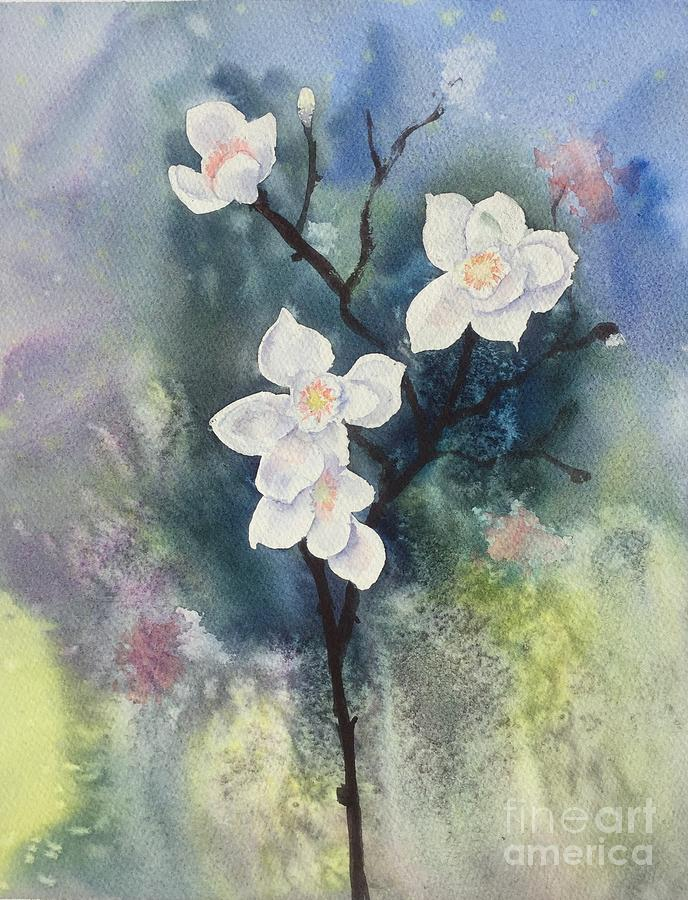 Spring Painting by Yohana Knobloch