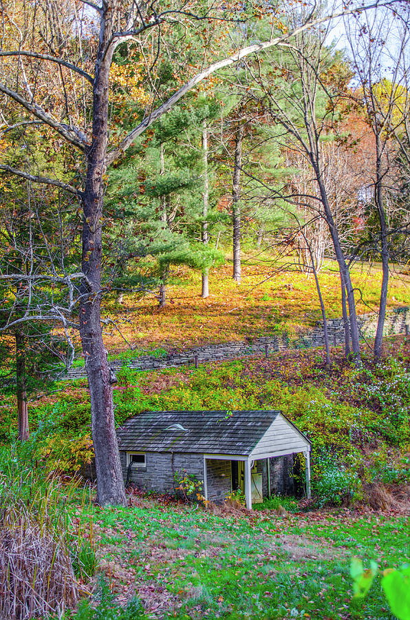 Springhouse on Wises Mill Rd - Roxborough Philadelphia by Bill Cannon