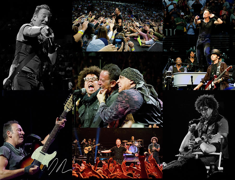 Springsteen In April Photograph