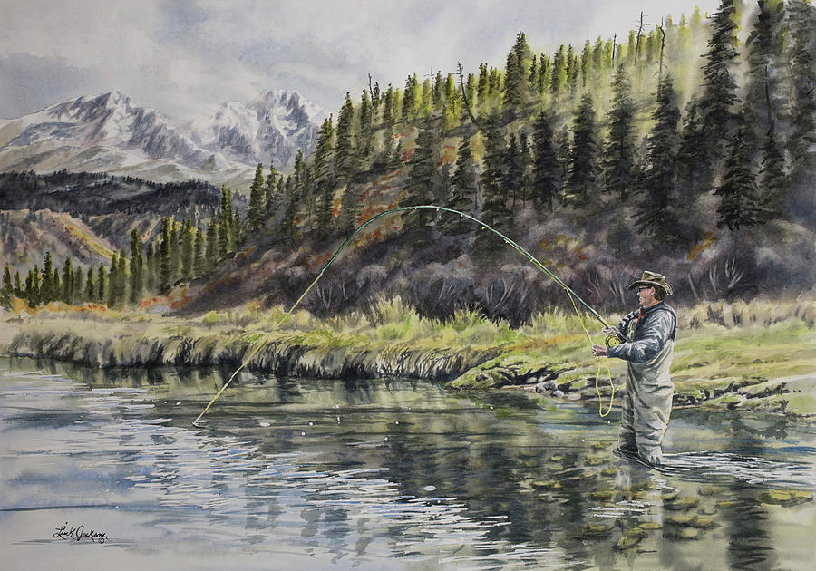 Springtime in the Rockies by Link Jackson
