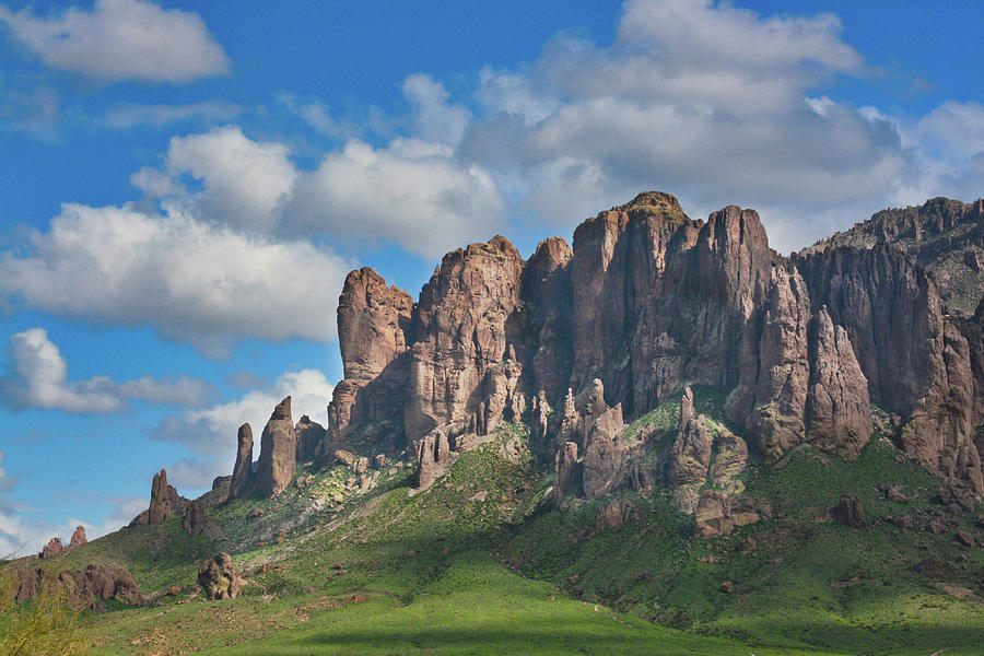Springtime in the Superstition Mountains by Kevin Schwalbe