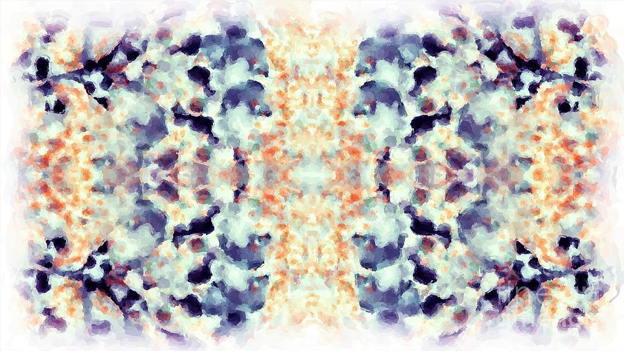 Springtime Magic Watercolor Tapestry - Textile