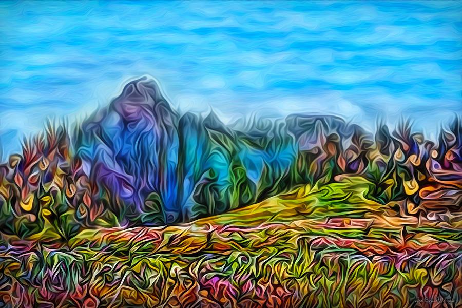 Springtime Mountain Glory by Joel Bruce Wallach