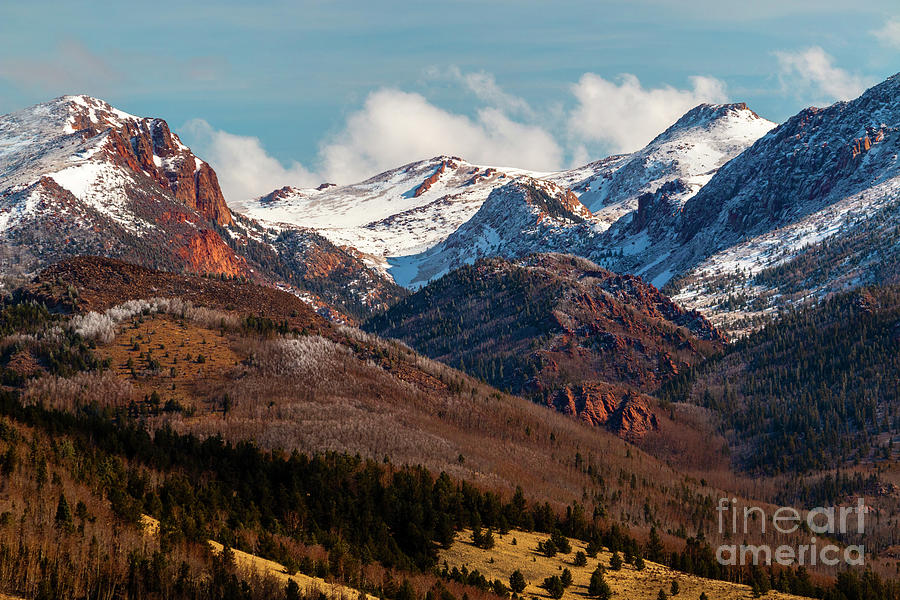 Springtime On Pikes Peak Photograph