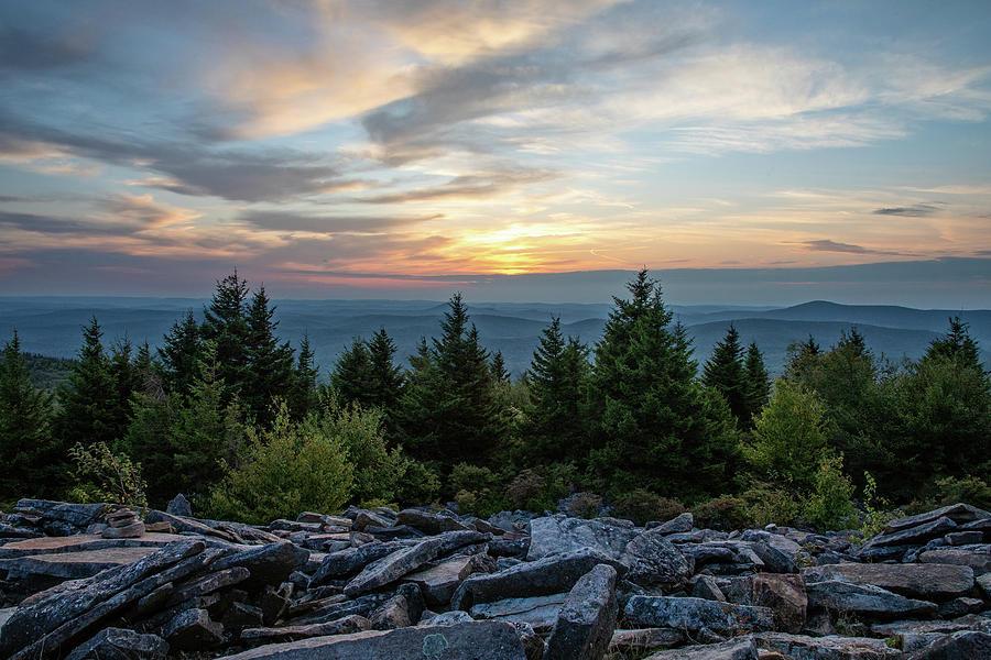Spruce Knob September Sunset by Jaki Miller
