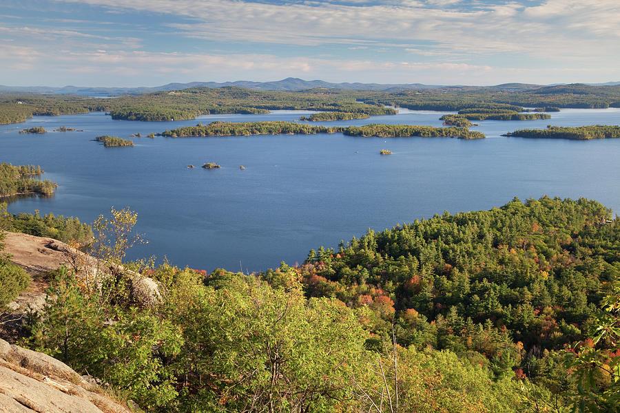 Squam Lake, New Hampshire Photograph by Denisebush