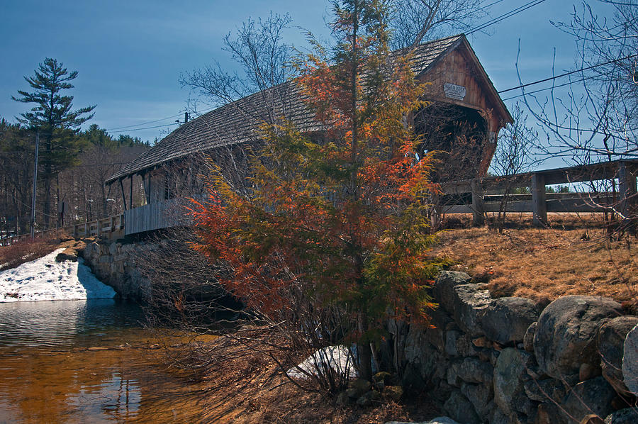 Squam River Bridge by Paul Mangold