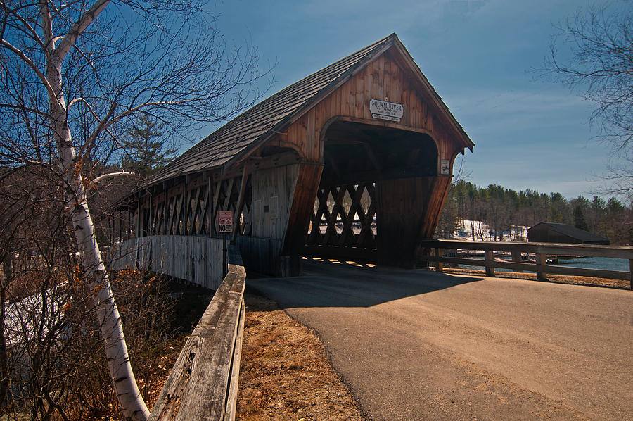Squam River Covered Bridge by Paul Mangold
