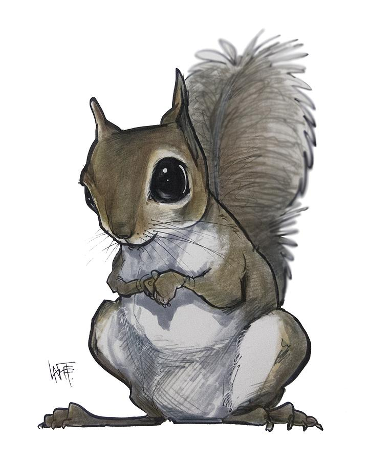 Squirrel by John LaFree