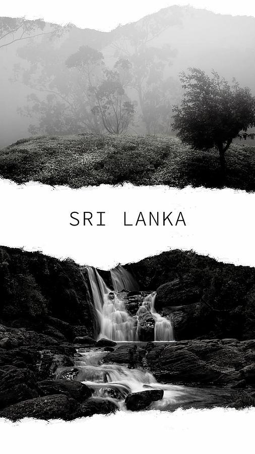 Sri Lanka Poster 1 by Jenny Rainbow