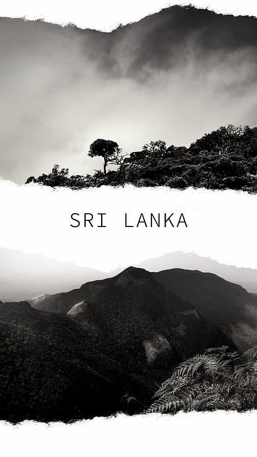 Sri Lanka Poster 2 by Jenny Rainbow