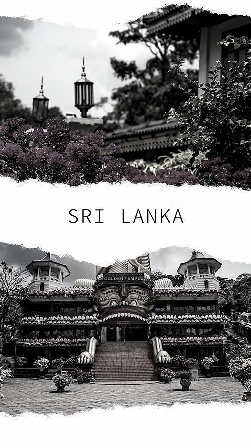 Sri Lanka Poster 3 by Jenny Rainbow